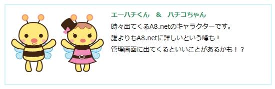 A8.netのキャラクター